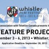 WFF Feature Project Lab Application Deadline