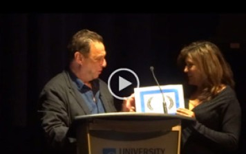 Director Charles Dennis Talks About Making His Film CHICANERY & Accepts Innovation Award