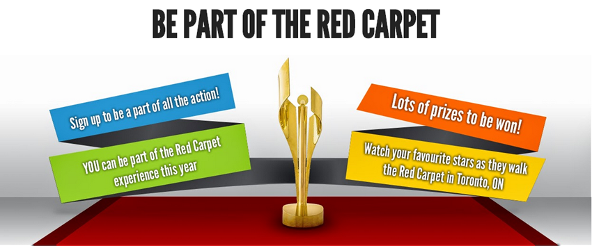 CLICK ON ABOVE IMAGE TO SIGN UP TO BE PART OF THE RED CARPET